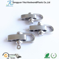 U Type Shackle Metal Stainless Steel