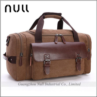 Popular latest style sports rolling travel canvas duffel bag