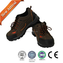 wholesale Men Steel Toe Cap Safety Ankle Boots/Hiking Outdoor Groundwork Shoes