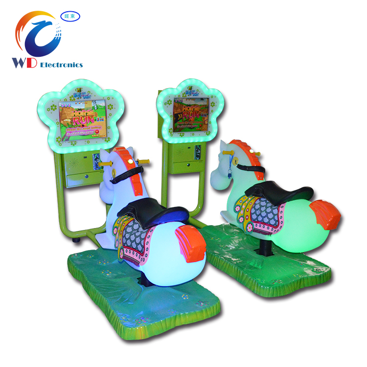 Top sale coin operated horse kiddie rides for sale