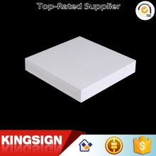 Newest economic pure white pvc foam plate