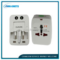 ADP003 Universal Travel Adapter 2 Universal Sockets Covering many countries