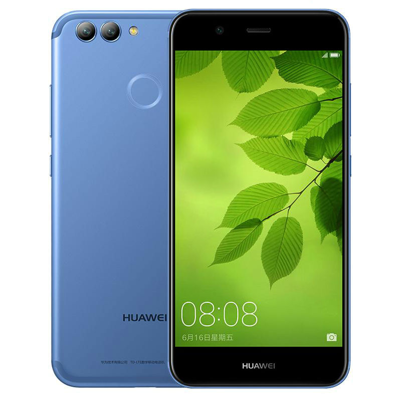 Original Huawei Nova 2 4GB RAM 128GB ROM 20.0MP Front Camera Smart Phone 5.0 inch Kirin 659 Octa Core Android 7.0 Dual SIM
