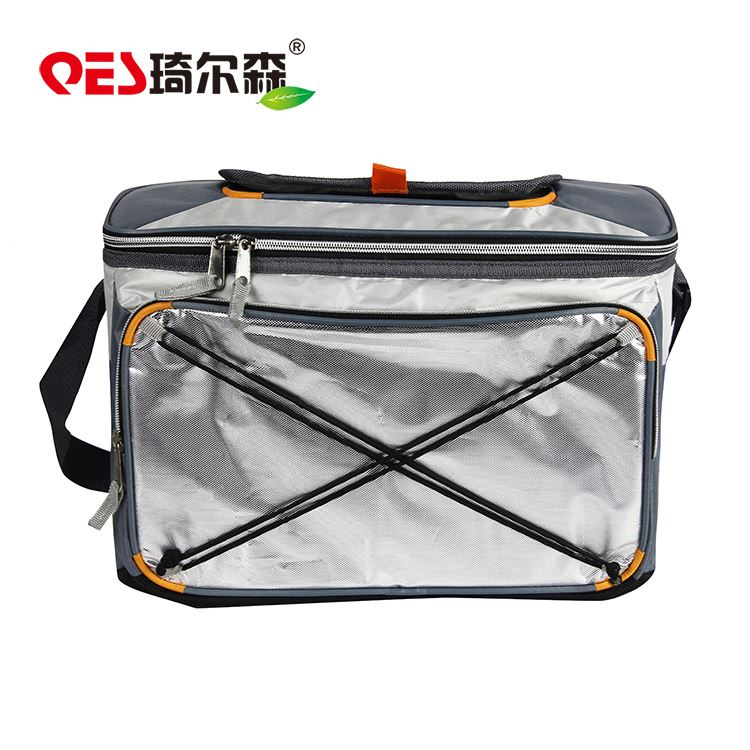 Top quality cheap custom logo waterproof zipper pockets tote pack wine bottle holder cooler bags