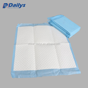 Natural Disposable Breathable Hospital Nursing Bed Pads