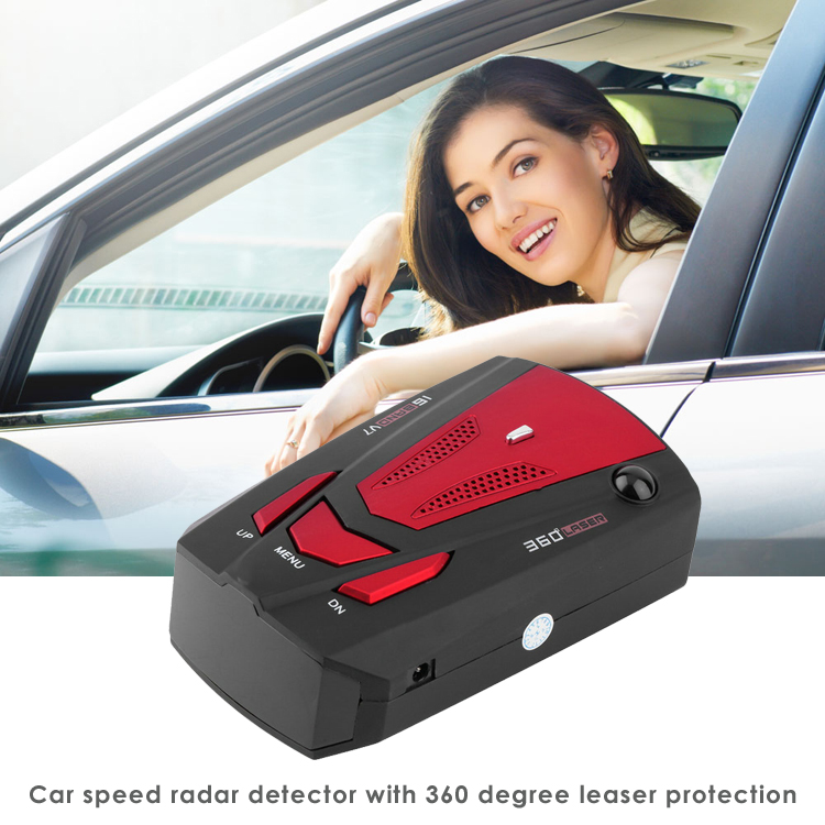 vehicle speed control devices anti speed police radar detector V7 K Ka band
