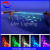 safe no electricity color changing fiber optic star swiming pool light decoration