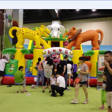 2015 kids game inflatable slide carnival amusement rides for sale