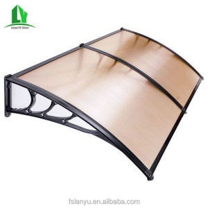 Economic outdoor Polycarbonate waterproof awnings for used door window awnings