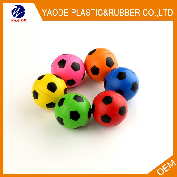 New products unique design sports pattern jumping ball bouncing balls with different size