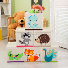 Cheap Collapsible foldable fabric storage box for kids toy
