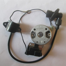 Quality ignition module and magneto flywheel for 2-stroke 038 grass trimmer