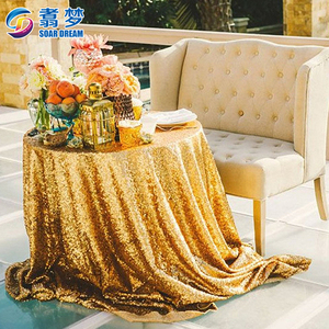 Event Decor Sparkly Sequin Linens custom glitter table cloths round sequin table cloth wedding table cloth