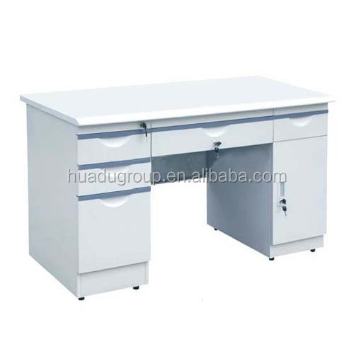 High density MDF Material and Office Foldable Furniture Type Office Furniture Desk