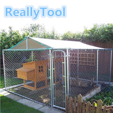 2018 chicken garden backyard pet run animal cages metal chicken coop for sale large run rabbit cage wholesale