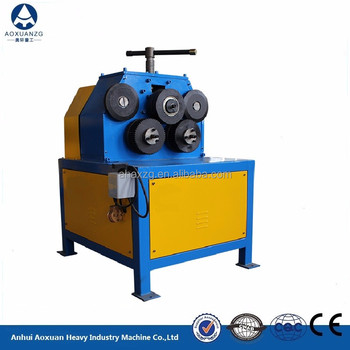 JY-50 low price electric angle steel rolling round machine / electric iron roller