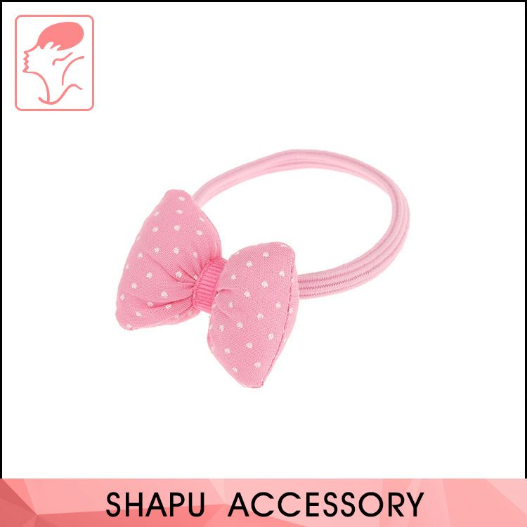 Factory Supply New Fashion Hair Accessories Colorful Elastic Rubber Hair Band