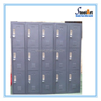 Stainless steel locker cabinet portable clothes storage locker