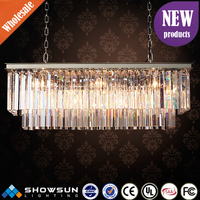 china manufacturers sale egyptian Crystal custom chrome modern home lighting