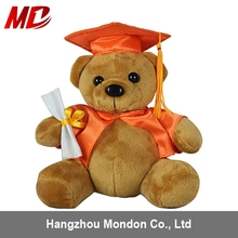 High Quality CE Certificate Lovely Plush Graduation Teddy Bear