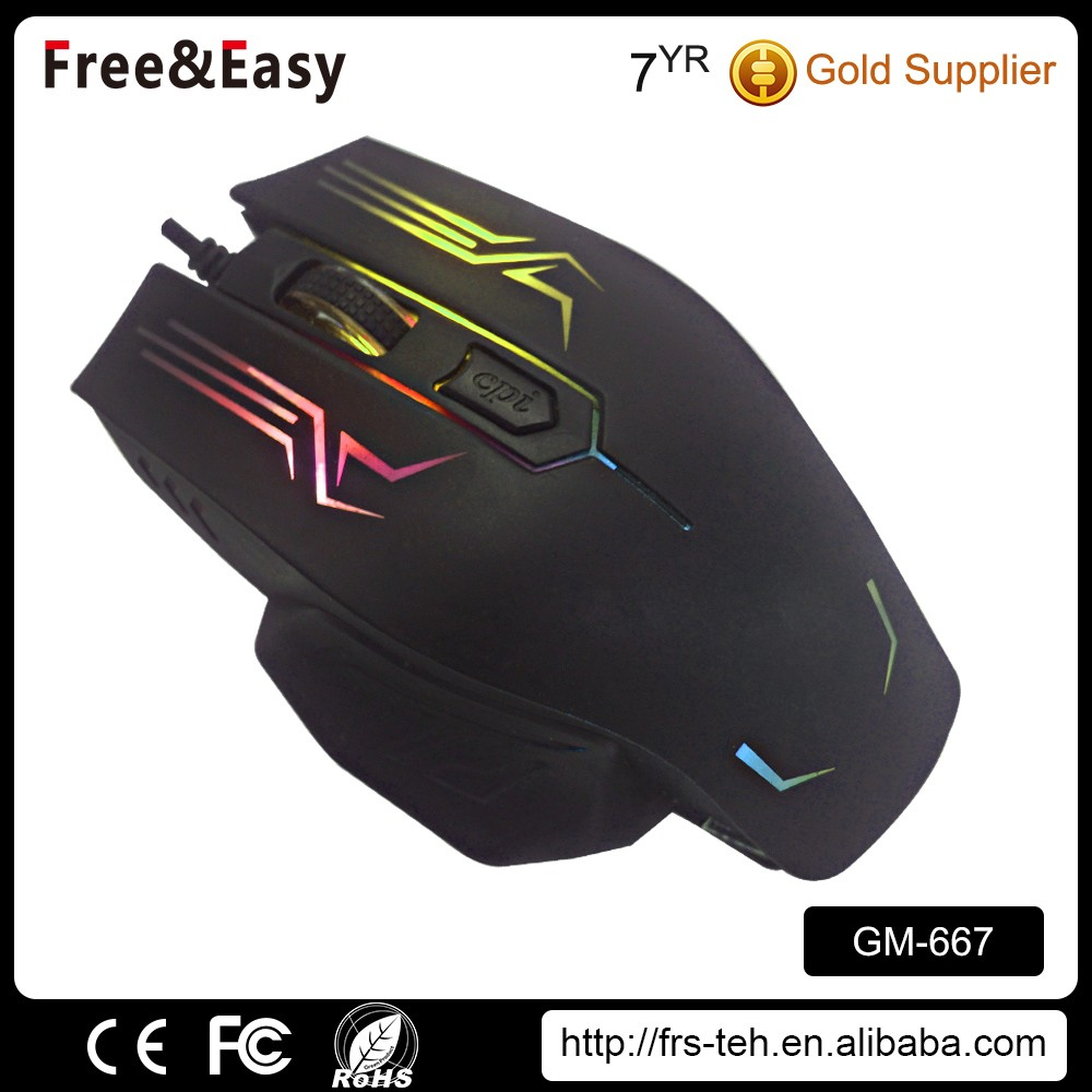 High quality mouse gamer drivers usb wired gaming mouse