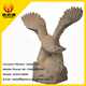 Garden granite eagle sculpture