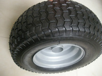 small pneumatic rubber wheels for lawn mower