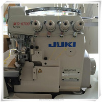 second hand juki 4/5 threads overlock industrial sewing machine
