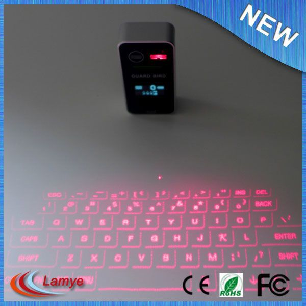 laser virtual micro mini keyboard bluetooth rohs