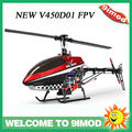 Walkera NEW V450D01 with DEVO F7 6-axis gyro 5.8G FPV RC Helicopter