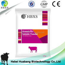 Treating Fever,Blue Ear Disease,Canine Distemper Amoxicillin Soluble Powder