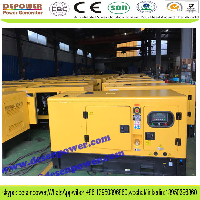 Over load protection,overfrequency protection 16kw 20kva silent diesel generator