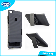 High quality armor Combo Case for Huawei P8 hybrid case cover with kickstand and belt clip