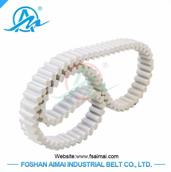 best selling product double sided tooth timing belt/ PU timing belt