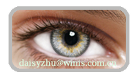 3 tone gray Korea eyeware cheap price colored contact lenses