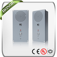 ITC T-6703 IP based 1 Key Get helped Waterproof and Vandal Proof Wired Audio Intercom