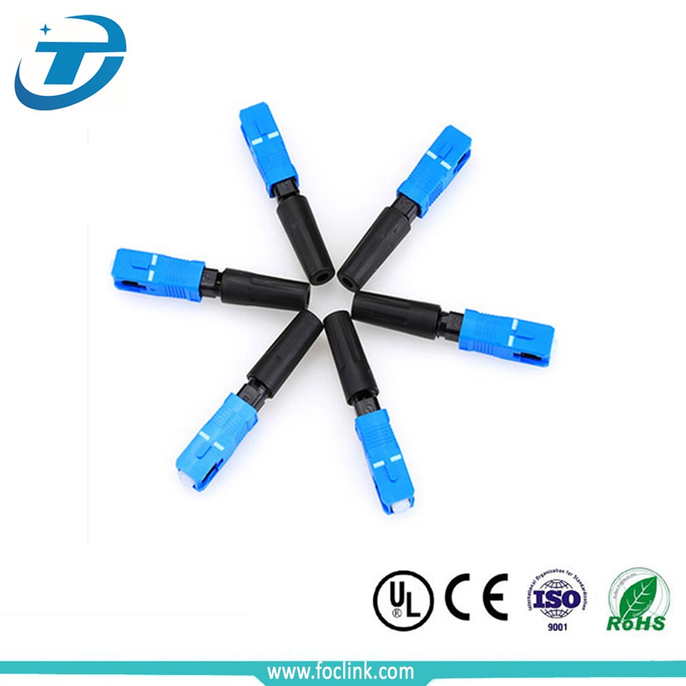 Wholesale FTTH fiber optic connector, fiber fast connector