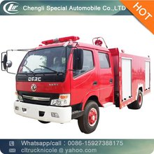 Dongfeng 4*2 95hp small fire truck, mobile fire fighting rescue equipment