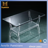 Factory directly OEM acrylic console table