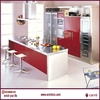 Italian bright prefab living house with kitchen room