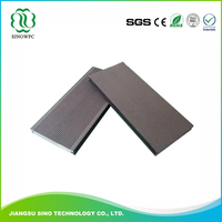 Recyclable Waterproof high quality swimming pool wpc decking prices