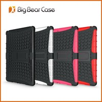 Hybrid armor TPU+PC case for ipad air