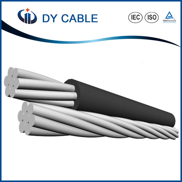 ASTM overhead aluminum steel conductor reinforced non insulated ACSR cable