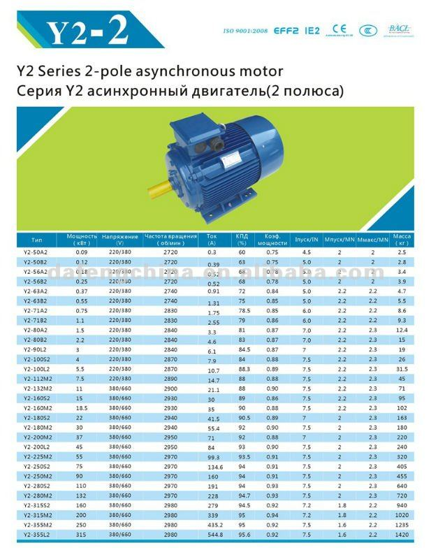 Russia Gost standard motor---Three phase