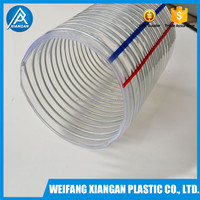 3 inch underground pvc pipe for water with steel wire reinforced
