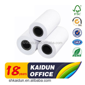 Factory price customized 58mm thermal paper roll for cash register machine