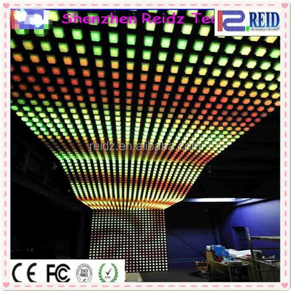 New IC wall led point pixel light amazing RGB DVI decor karaoke room