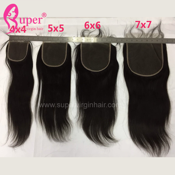6 By 6 Lace Closure With A Natural Part Best Selling 9a Grade Straight Mink Raw Woman Hair Virgin Brazilian