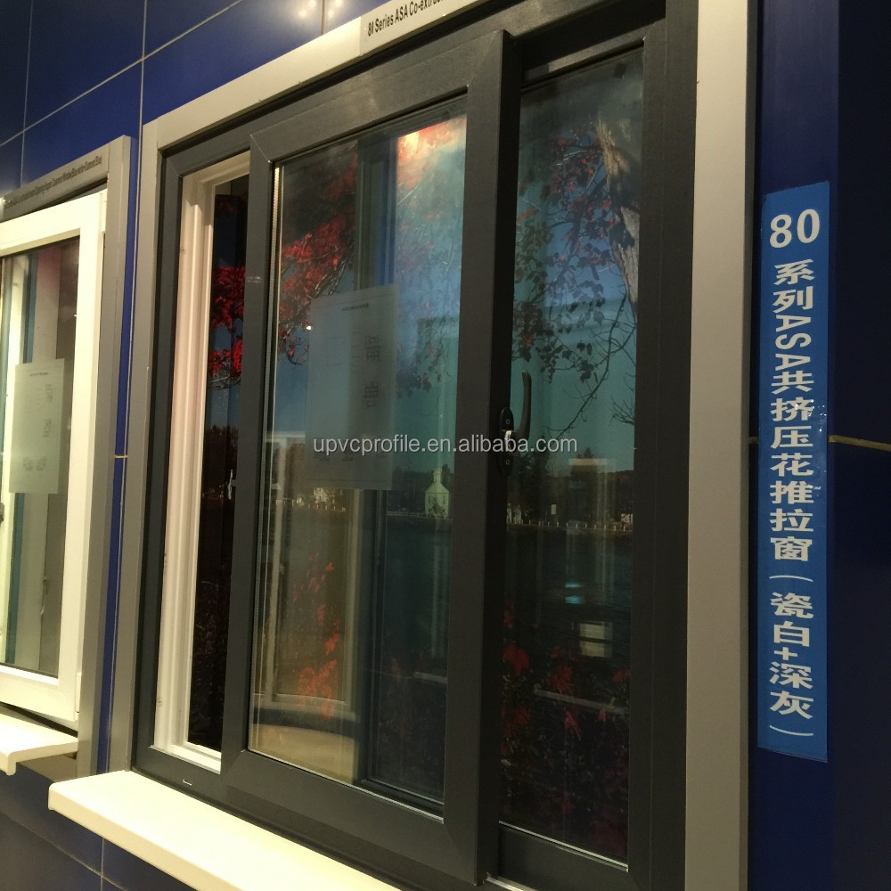 80mm series pvc sliding window
