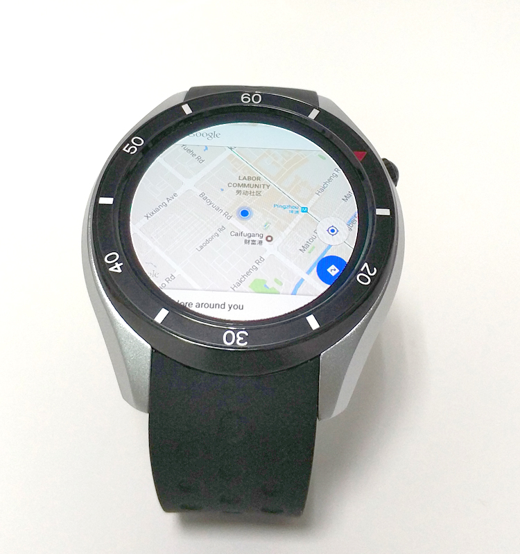 2.4G Wifi V4.0 Bluetooth MTK 1.3GHz Smart Android Watch Gps Tracker